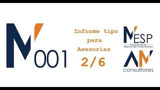 EBITDA, Inmovilizado y Gráfico -Informe tipo de Asesorías - MESP_001 (2/6)