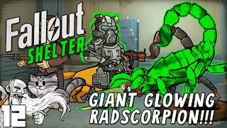 "Fallout Shelter Gameplay - ""GIANT GLOWING RADSCORPION!!!""  (iOS/Android/PC) Let"