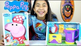 Peppa Pig Toys!! Bedtime Case & Breakfast Playset B2cutecupcakes