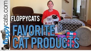 Best Cat Products - Floppycats Favorite Cat Product Video - Cat Product Review