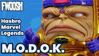 Marvel Legends M.O.D.O.K Mega Deluxe 6-inch Hasbro MODOK Action Figure Review