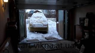 Ворота секционные гаражные ALUTEX с автоматикой(, 2013-02-02T13:45:24.000Z)