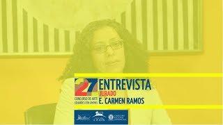 Leon Center. Interview with E. CARMEN RAMOS