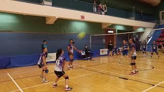 Publication Date: 2018-04-22 | Video Title: 簡易排球2017-18 奉基千禧對女拔 (決賽)