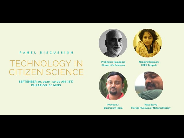 Panel Discussion on Technology in Citizen Science