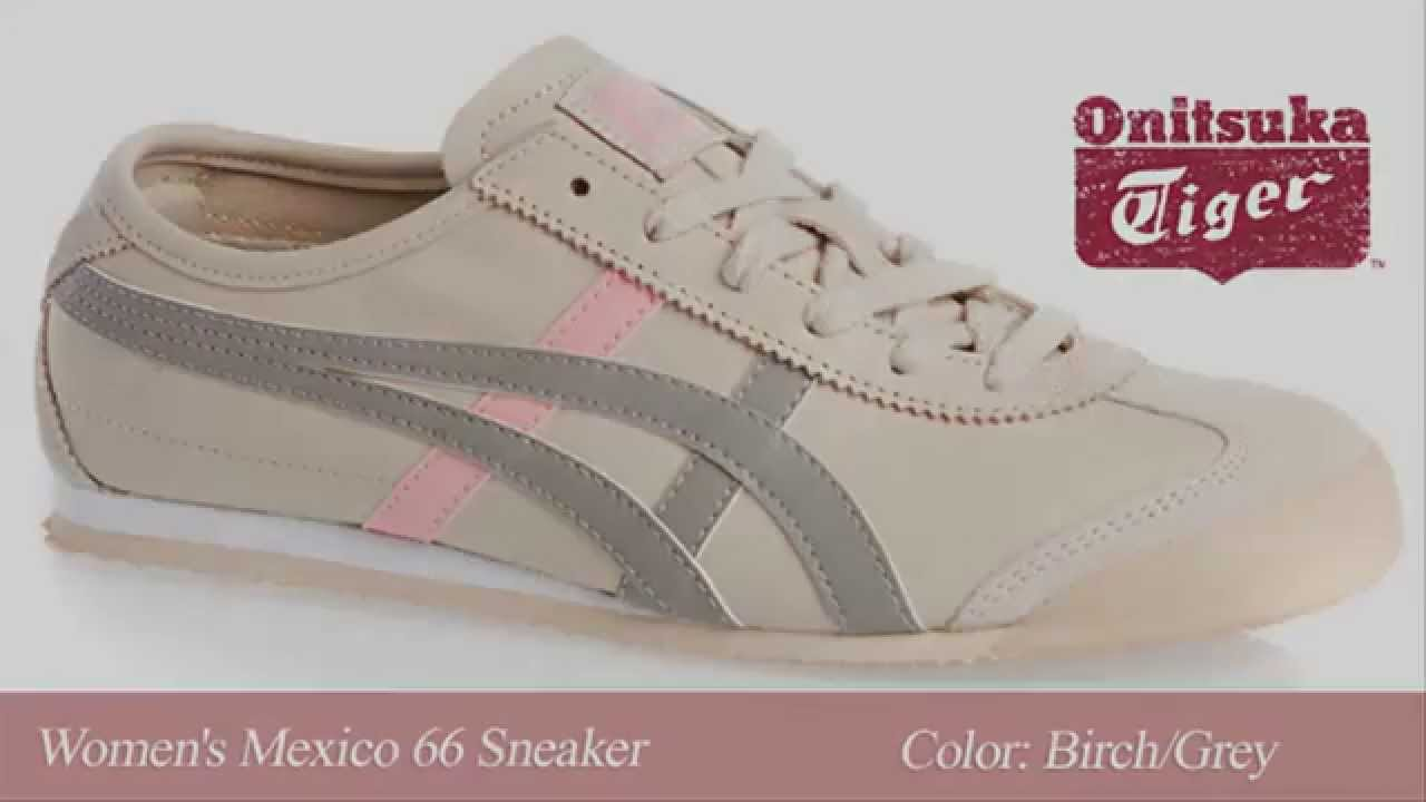 Asics Onitsuka Tiger Shoes |Asics Onitsuka Tiger Women's Mexico 66 Casual  Shoes - Women - YouTube