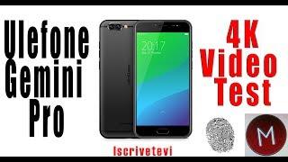 Ulefone Gemini Pro 4K Video Test