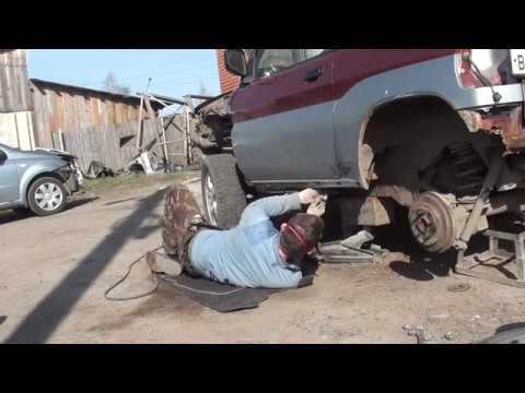 Попытка спасти Mitsubishi Pajero Mini