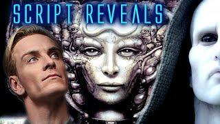 How David Killed Dr. Shaw / Script Reveals from Paradise Alien Covenant Prologue