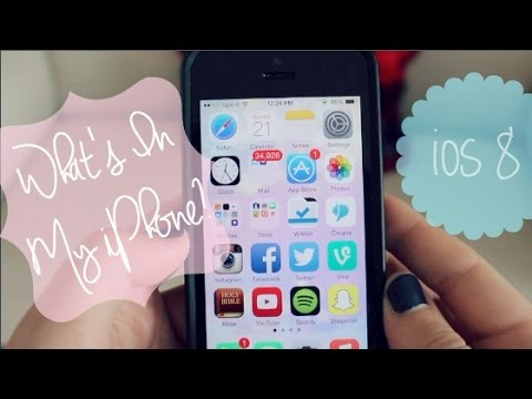 What's in My iPhone!