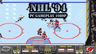Old Games - NHL '94 (NHL Hockey DOS) / #13 LA Kings League  / PC 1080p
