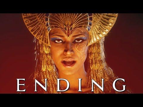 ASSASSIN'S CREED ORIGINS CURSE OF THE PHARAOHS ENDING Walkthrough Gameplay Part 7 (AC Origins)