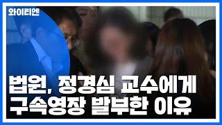 [속보] 법원, 정경심 교수 구속영장 '발부&#…