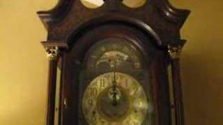Ridgeway Grandfather Clock Built 1981 St. Michael's Chime