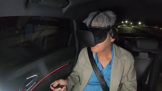 Audi e-tronで、アウディの最新車内エンタメ「holoride」をラスベガスで体験
