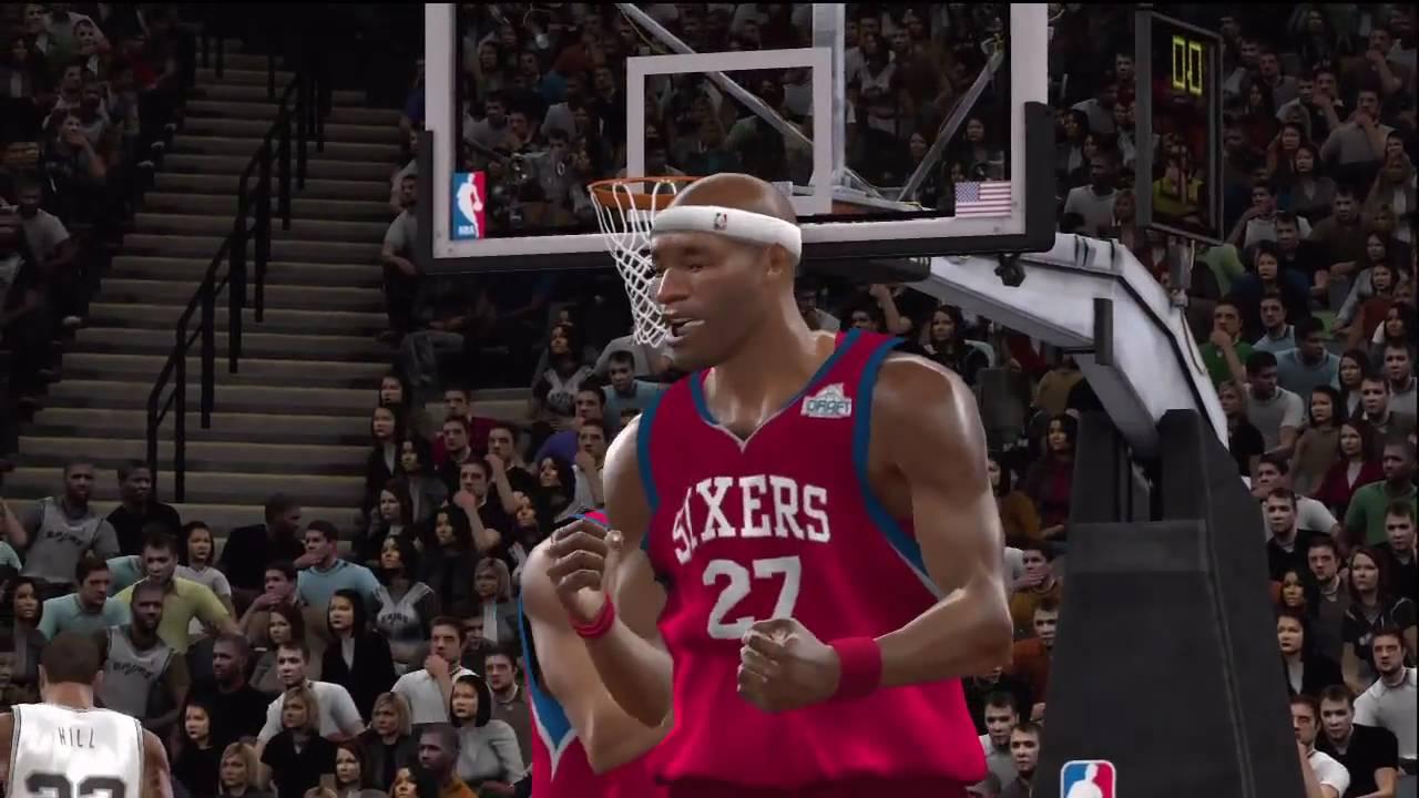 NBA 2K10 - My Player - NBA Finals Glitch