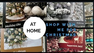 **NEW**2018 At Home Christmas Decor Collections  & Shop with Me