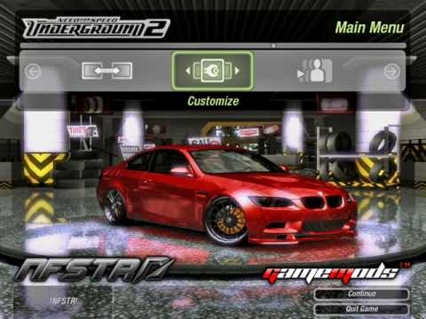Download mod underground speed 2 car need for install