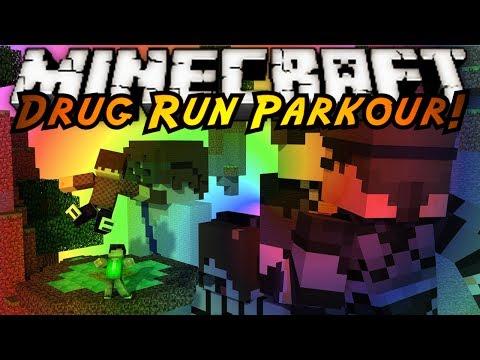 Minecraft Parkour : DRUG RUN!