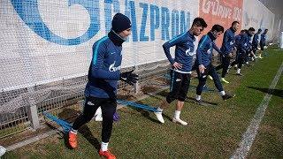 «Краснодар» — «Зенит»: открытая тренировка