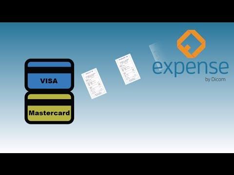 Expense - Kontera digitala kvitton från Visa och MasterCard