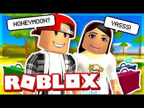 MY FIRST VACATION WITH MY GIRLFRIEND - ROBLOX