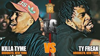 TY FREAK VS KILLA TYME | URLTV