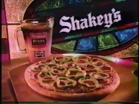 shakey's pizza 1983 commercial