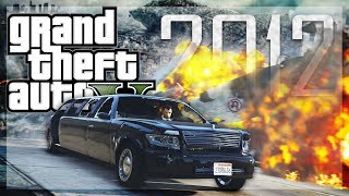 GTA 5 Online - 2012 (Movie) RECREATION! (GTA 5 Funny Moments)