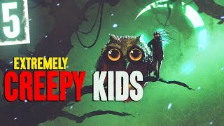 5 EXTREMELY Creepy Kids (with Horror Sound Effects) - Darkness Prevails