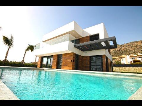 Качественная Hi-Tech вилла в Испании в Сьерра Кортине, недвижимость в Испании  2017 года в Бенидорме