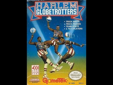 (EPISODE 1,172) RETRO GAMING: LET'S PLAY HARLEM GLOBETROTTERS (NES) MARCH 1991