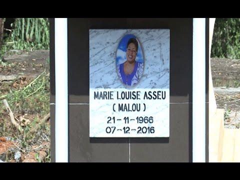 Culture / Nécrologie : Inhumation  de Marie Louise Asseu à Affery