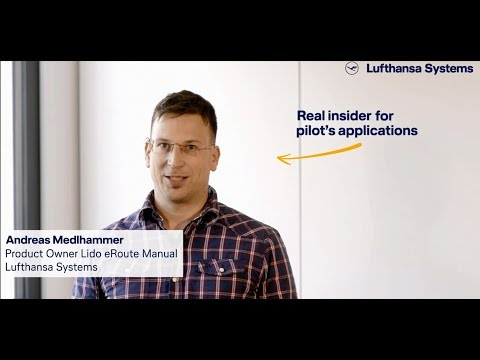 Meet our insiders - We're into IT -  Lido eRoute Manual / Lufthansa Systems
