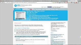 XML Sitemaps - Einfach eine HTML Sitemap erstellen mit XML-Sitemaps.com Mp3
