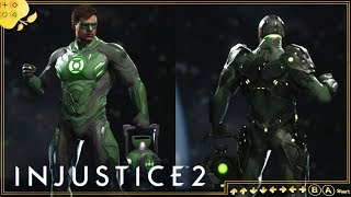 PERSONALIZAÇÃO DO LANTERNA VERDE LVL. 30 | Injustice 2: Legendary Edition