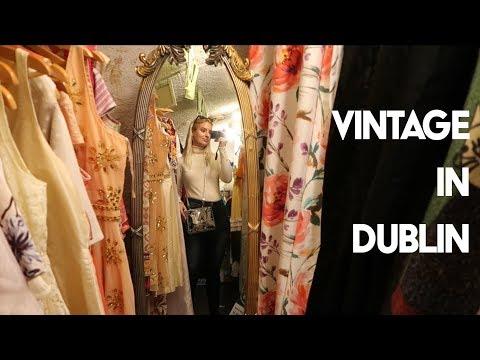 VINTAGE SHOPPING IN DUBLIN!! ✨