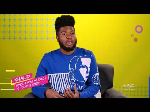 Khalid Sends a Wise Message to Today's Youth