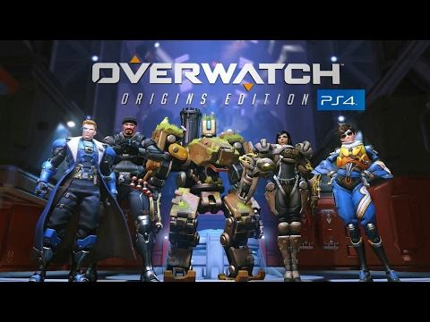 Overwatch: Origins Edition PS4 Gameplay