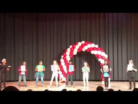 Suhani in Teasley Elementary School Talent Show