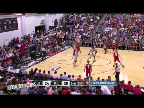 Anthony Bennett Full SL Highlights 2014.07.11 Vs Bucks - 15 Pts, 7 Reb