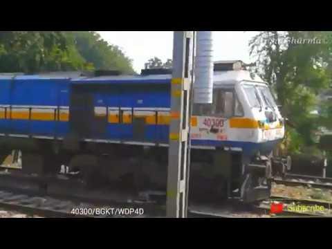 110kmph Speed || Okha Varanasi SF Express || Train Journey || Sawai Madhopur to Gangapur city