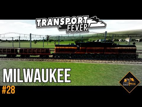 The Milwaukee Replacement | Transport Fever gameplay The Alps #28