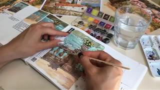 Уроки акварельной живописи. Книга