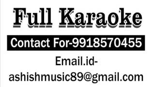 Mehndi Laga Ke Rakhna Karaoke With Female Voice