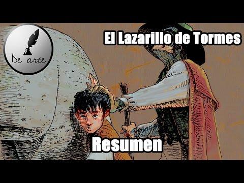 EL LAZARILLO DE TORMES  - RESUMEN