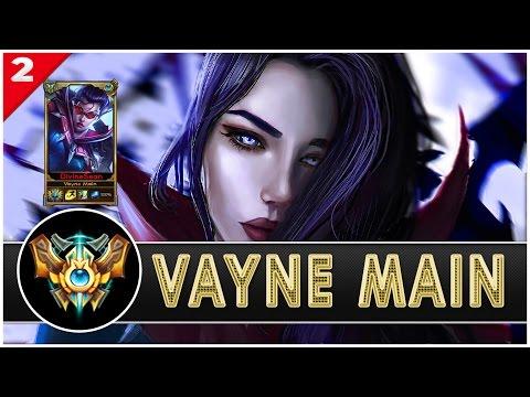 DivineSean - Vayne Main Compilation |560,000 Mastery Points - League of Main