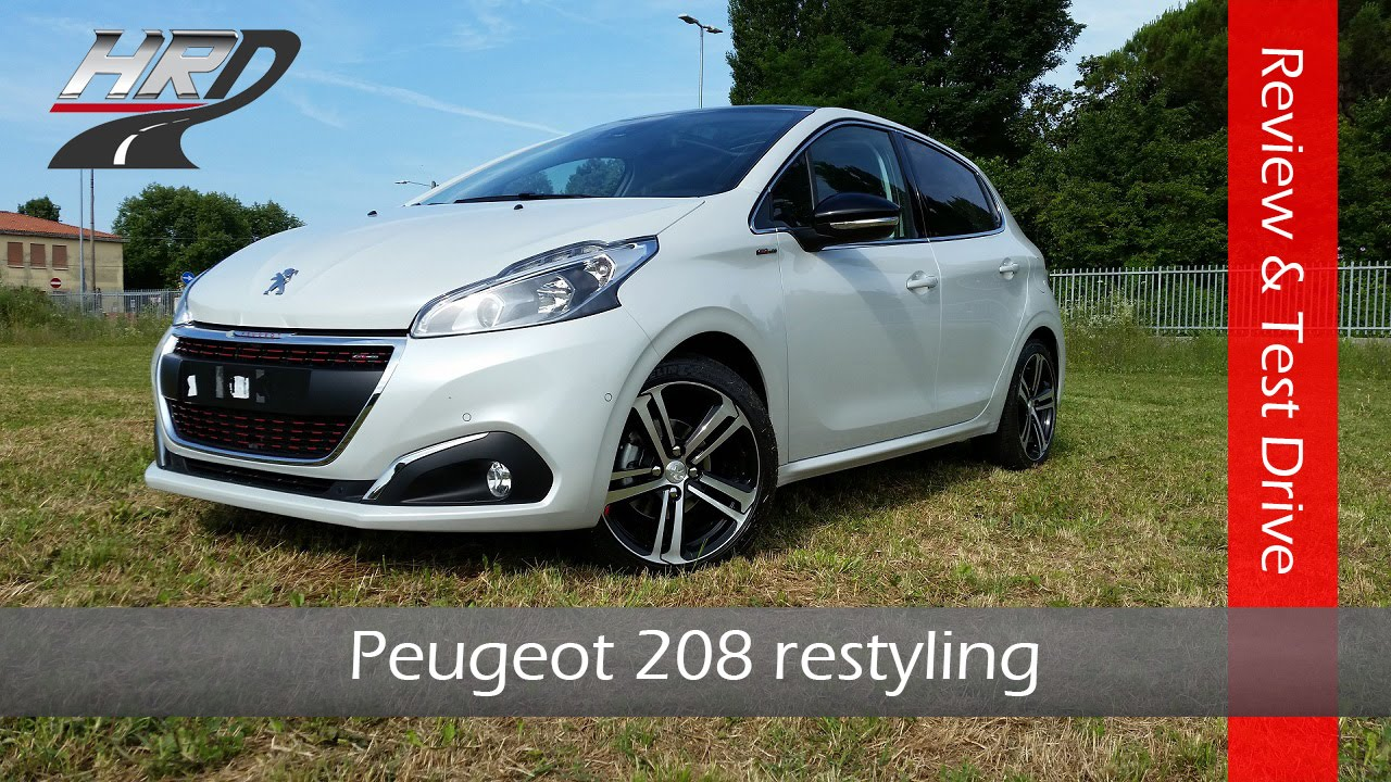 2015 peugeot 208 gt line restyling test drive & review - prova su