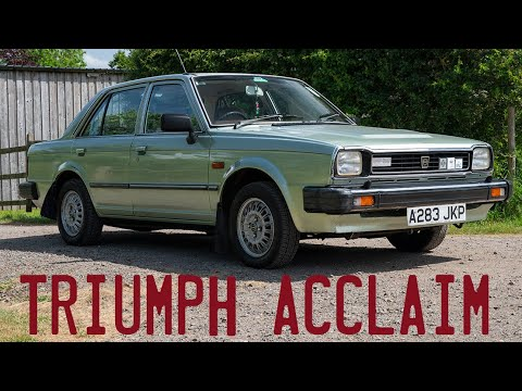 1983 Triumph Acclaim Goes For a Drive