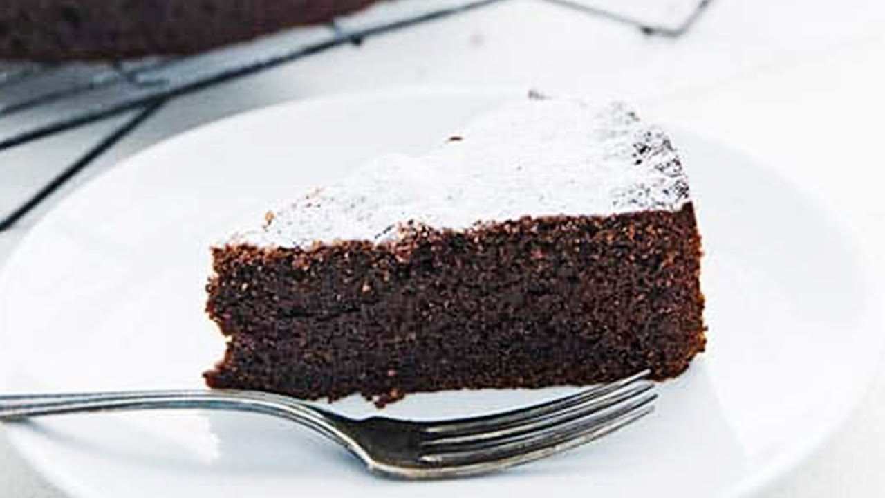 How To Make The Most Delicious Flourless Chocolate Cake At Home A K A Torta Caprese Youtube